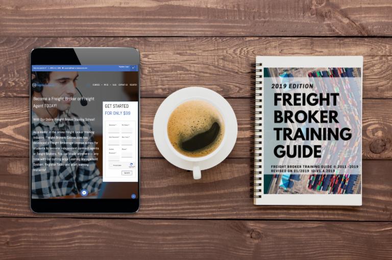 Online Freight Broker Training Pricing